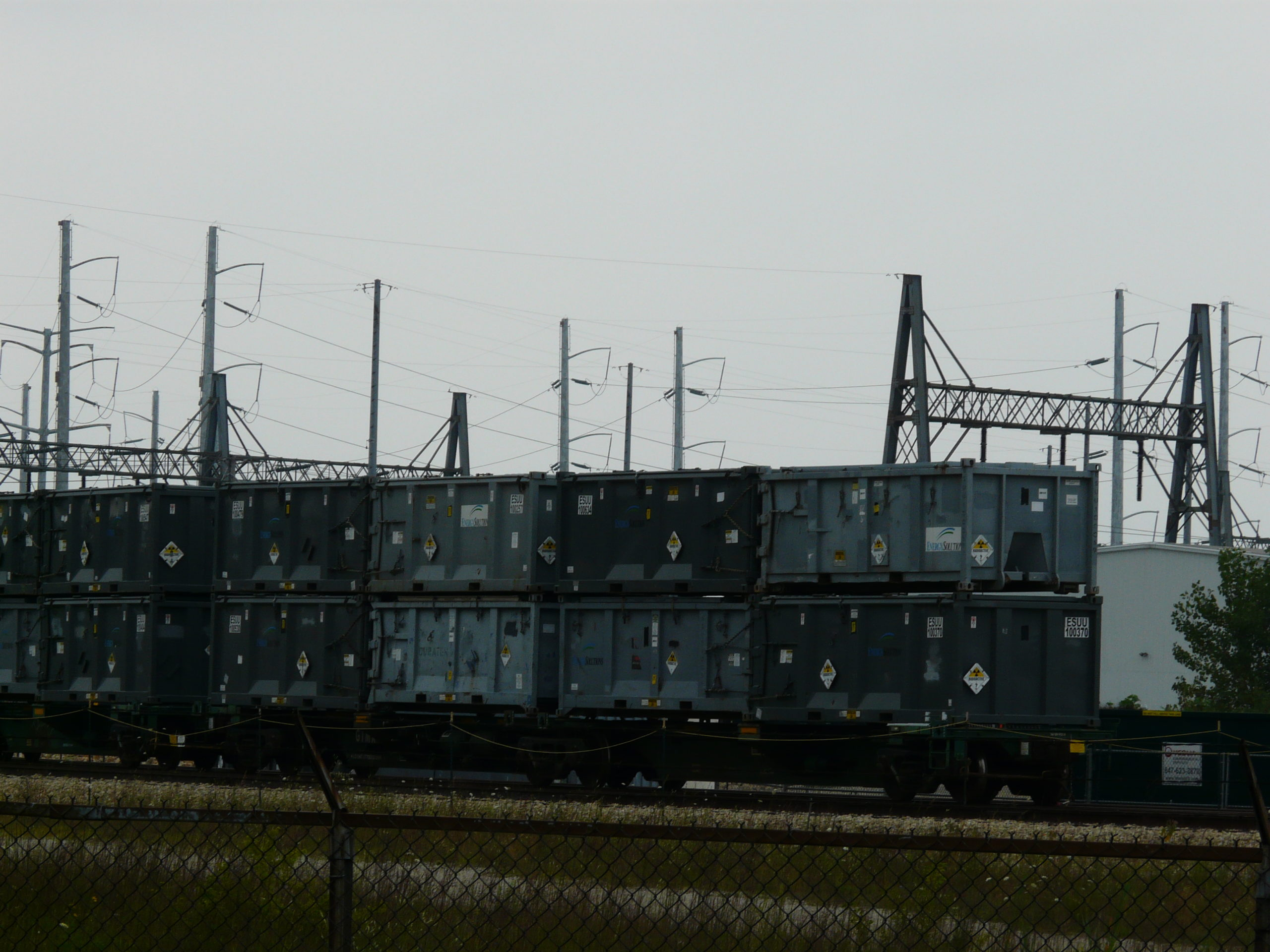 Radioactive Waste Shipment Rail