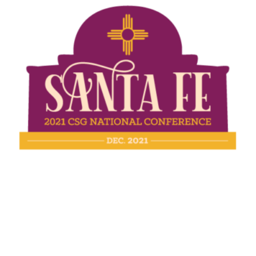 2021 National CSG meeting logo