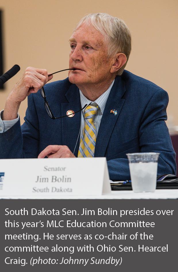 picture of South Dakota Sen. Jim Bolin